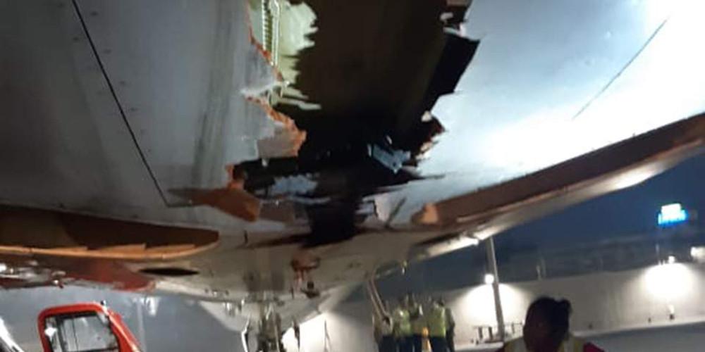 Πιλότοι «εγκληματίες»! Συνέχισαν την πτήση αφού… στούκαραν το αεροσκάφος σε τοίχο!