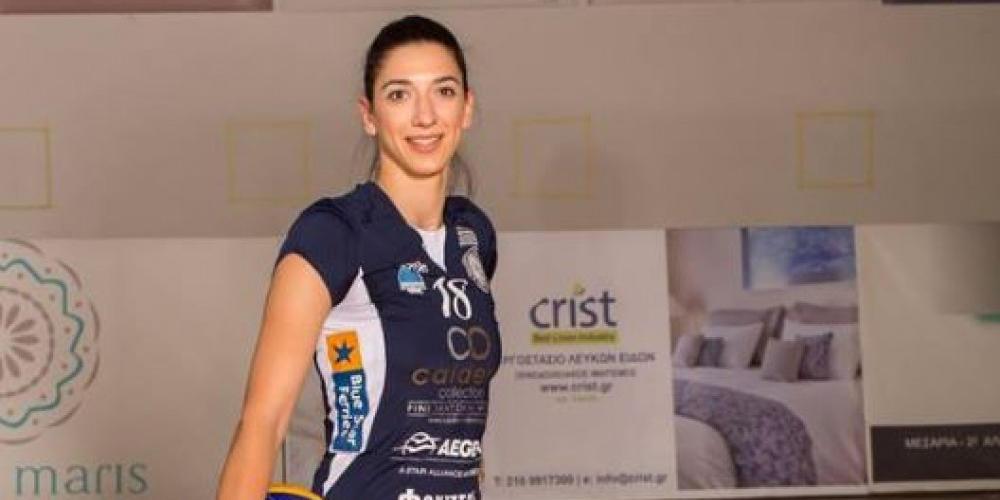 Η Εμμανουηλίδου στην καλύτερη επτάδα του της Volleyleague γυναικών