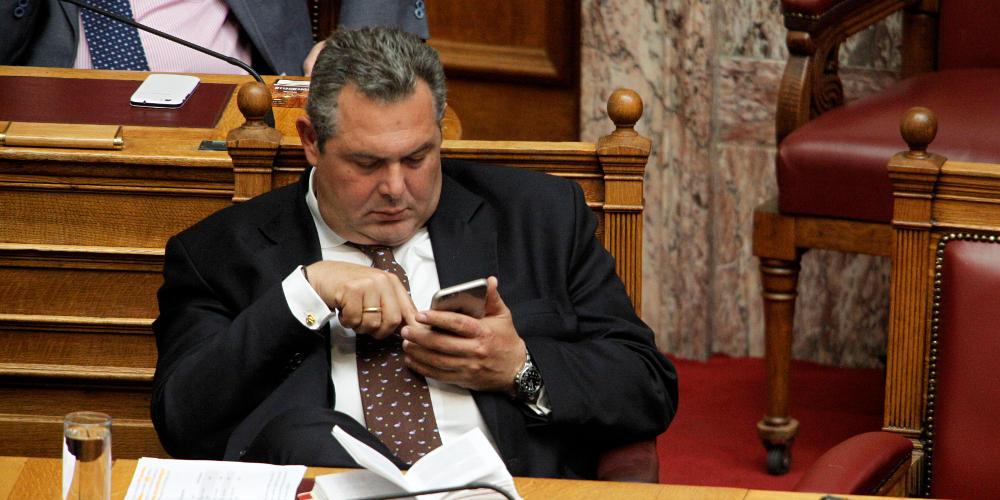 Persona non grata ο Καμμένος για τον ΣΥΡΙΖΑ μετά τις δηλώσεις για Σκοπιανό