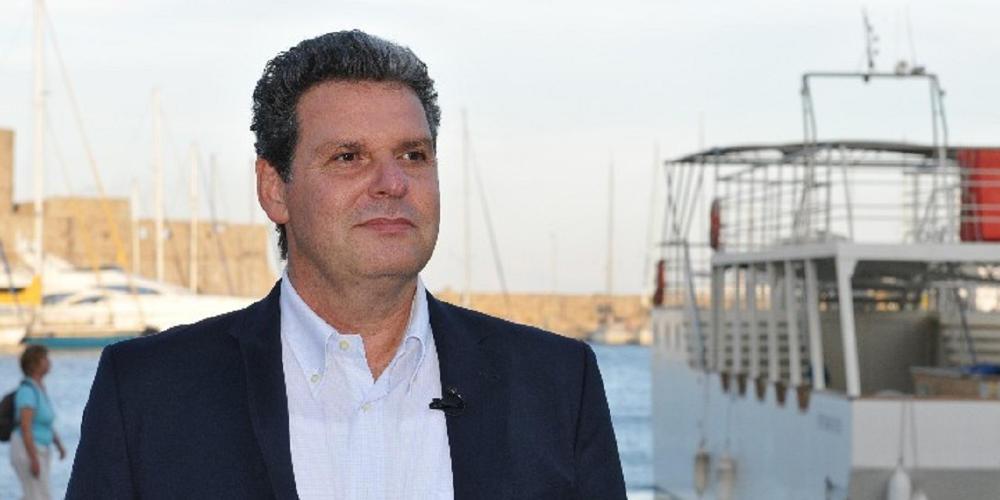 Ο Μανώλης Γλυνός υποψήφιος περιφερειάρχης Νοτίου Αιγαίου