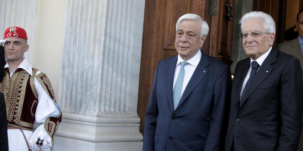 Ο πρόεδρος της Ιταλίας στην παρέλαση για το «Όχι» στη Θεσσαλονίκη