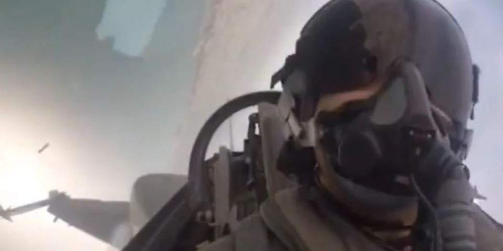 Το μήνυμα του πιλότου του F16 στη Θεσσαλονίκη: Καλημέρα Μακεδονία!