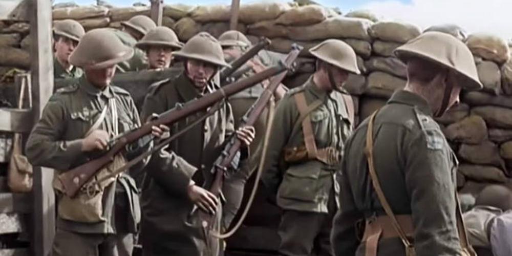 Αυθεντικά πλάνα από τον Πρώτο Παγκόσμιο Πόλεμο όπως δεν τα έχουμε ξαναδεί