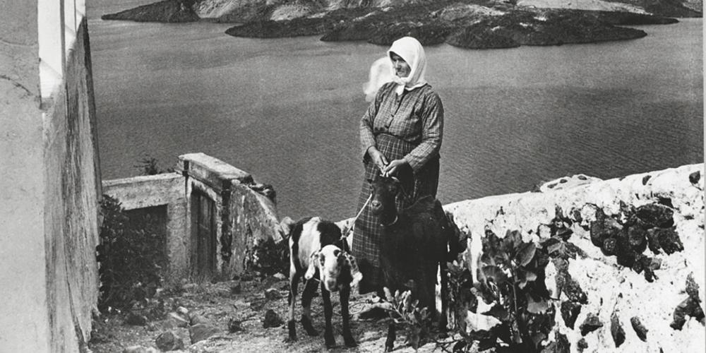 Ασπρόμαυρες φωτογραφίες από την Σαντορίνη του 1925-1930!