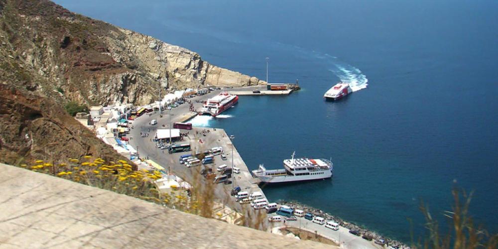Από τον Νοέμβριο ξεκινούν οι εργασίες στο λιμάνι της Σαντορίνης
