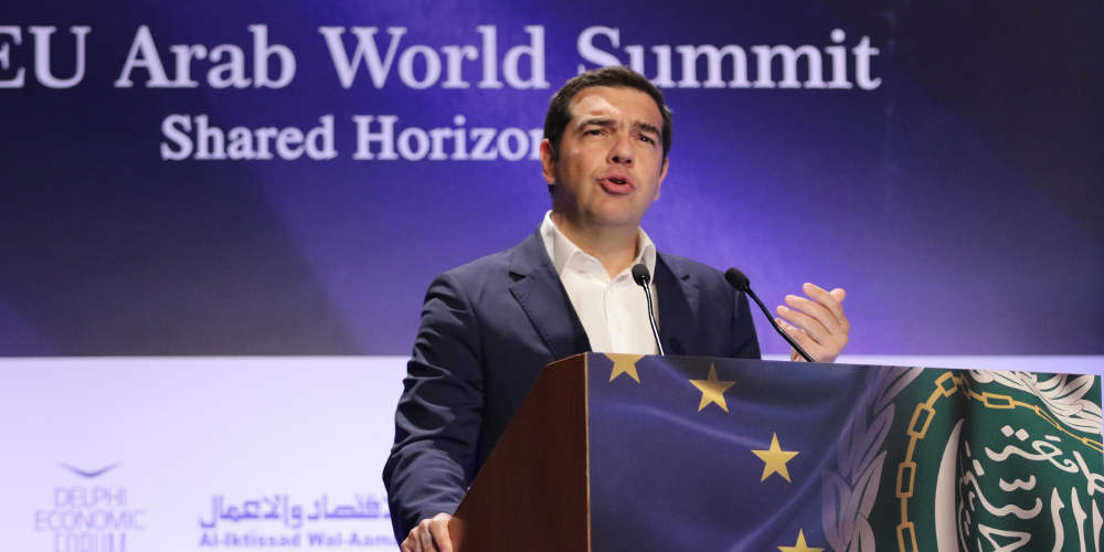 Ο Αλέξης Τσίπρας άνοιξε πάλι με λόγια την συζήτηση για τις γερμανικές αποζημιώσεις