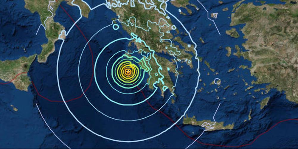Σεισμός στη Ζάκυνθο: Τουλάχιστον τρία εκατοστά μετακινήθηκε το νησί από τα 6,4 ρίχτερ
