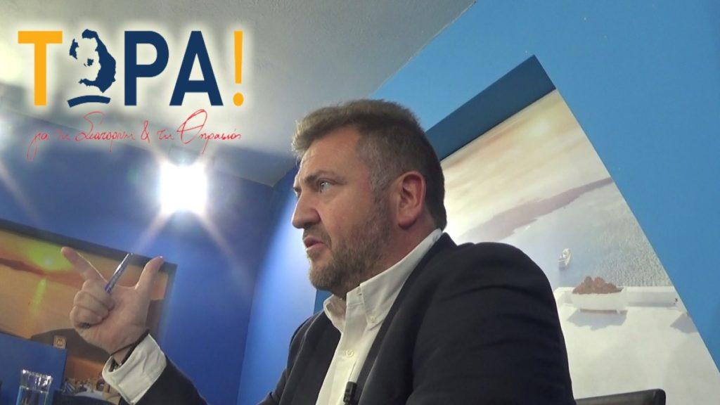 Ο Μανόλης Ορφανός υποψήφιος Δήμαρχος Σαντορίνης