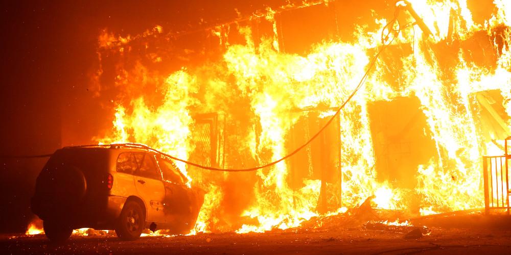 Πύρινη κόλαση: Τουλάχιστον 9 νεκροί από την πυρκαγιά στην Καλιφόρνια