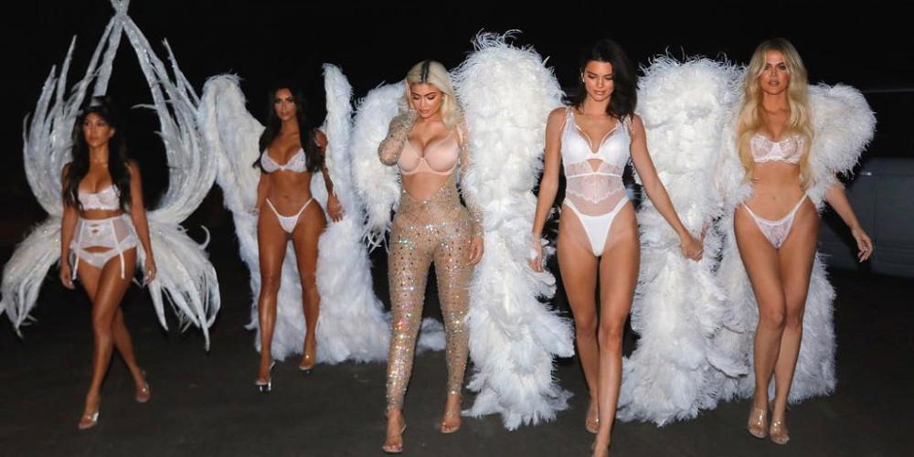 Οι αδερφές Καρντάσιαν έγιναν Άγγελοι της Victoria's Secret