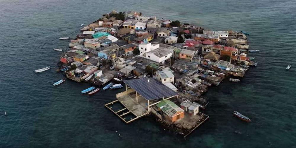 Αυτό το νησάκι είναι το πιο πολυκατοικημένο μέρος του κόσμου