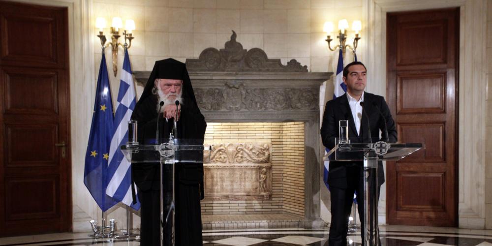 Επίθεση Θεολόγων σε Τσίπρα και Ιερώνυμο για την συμφωνία τους