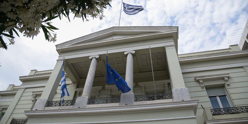 Μήνυμα ΥΠΕΞ σε Τουρκία: Η Ελλάδα δεν πρόκειται ποτέ να αποδεχθεί τετελεσμένα στην Κύπρο
