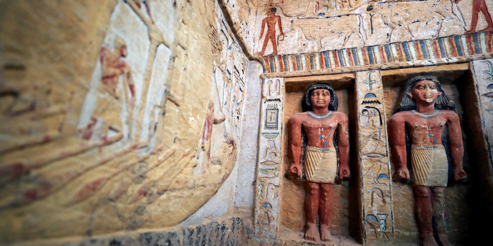 Ανακαλύφθηκε τάφος 4.400 χρόνων στην Αίγυπτο